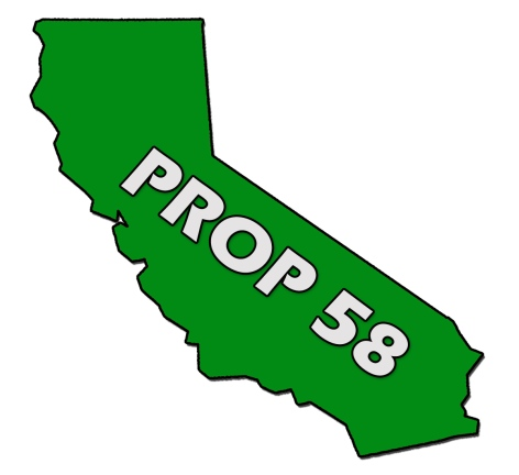 California Proposition 58